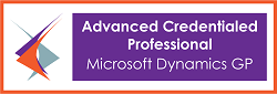 Advanced Credentialed Professional Microsoft Dynamics GP