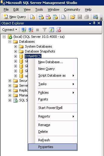 Microsoft Dynamics GP 10 Utilities