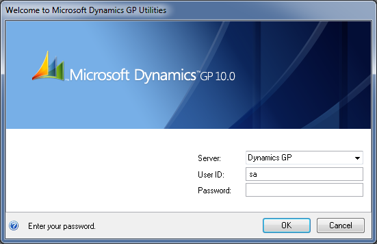Microsoft Dynamics GP 10 Utilities