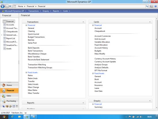 Windows 8 Developer Preview - Microsoft Dynamics GP 2010 R2