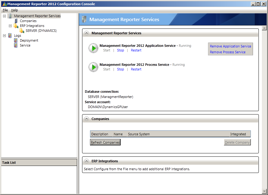 How To Configure Management Reporter 2012 Microsoft