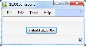 GL00105 Rebuild