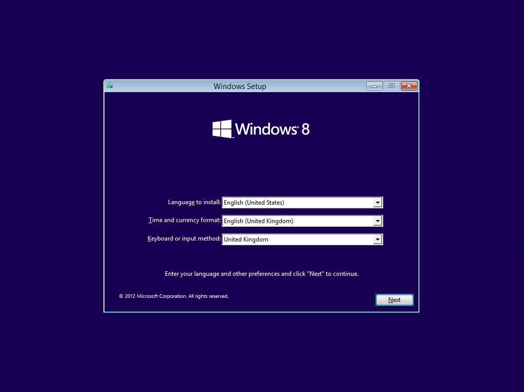 How to install windows 8 microsoft dynamics gp community for Windows installer