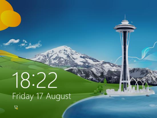 Windows 8 Setup -