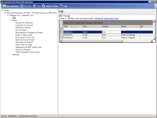 Connector for Microsoft Dynamics
