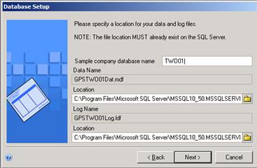 Named System Database