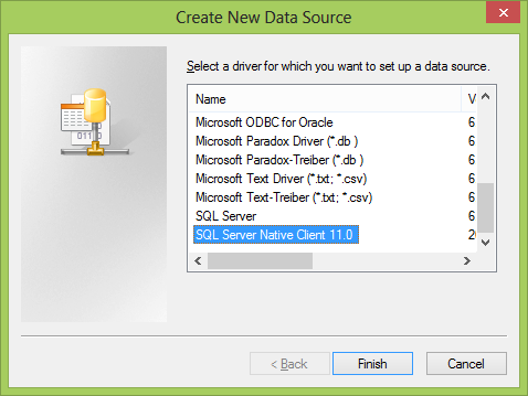 Kb232691: microsoft sql server 2008 with native client driver is.