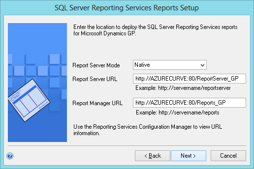 SQL Server Reporting Services Reports Setup