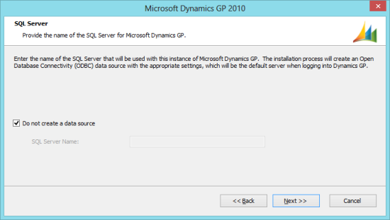 Microsoft Dynamics GP 2010 - SQL Server