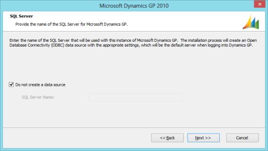 Microsoft Dynamics GP 2010 - SQL Server