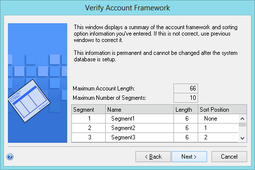 Verfiy Account Framework