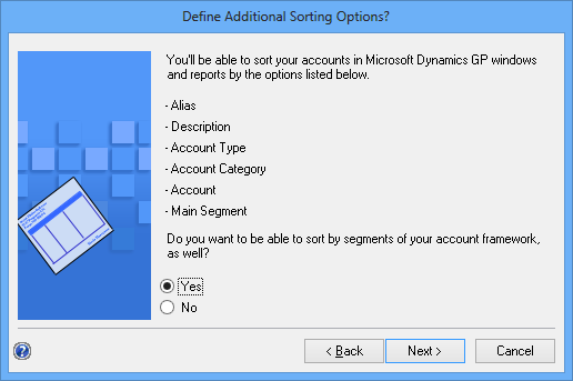 Define Additional Sorting Options?