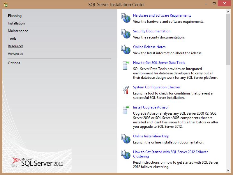 microsoft 2012 sql server