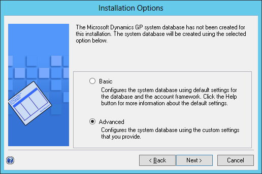 Installation Options