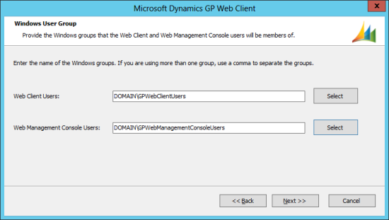 Microsoft Dynamics GP 2013 setup utility - Windows User Group