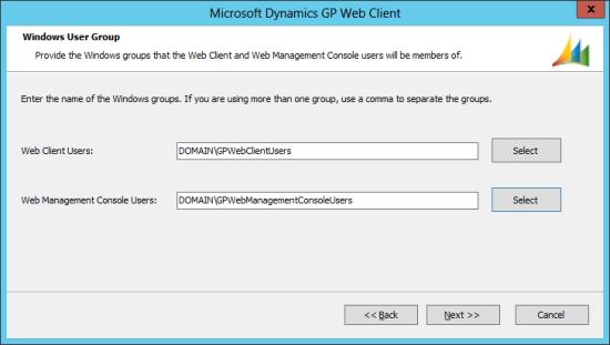 Microsoft Dynamics GP 2013 setup utility - Windows User Group