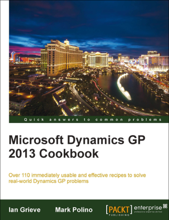 Microsoft Dynamics GP 2013 Cookbook Has Been Released