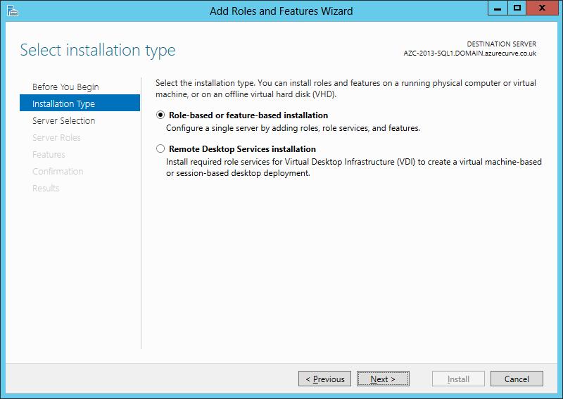 Offline Install Of dotNET 3 5 On Windows Server 2012