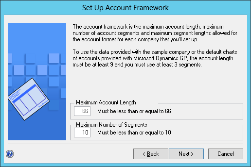 Set Up Account Framework