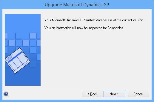 Upgrade Microsoft Dynamics GP