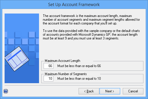 Set Up Account Framework