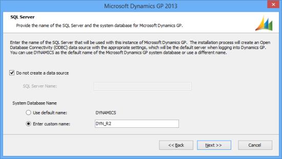 Microsoft Dynamics GP 2013 - SQL Server