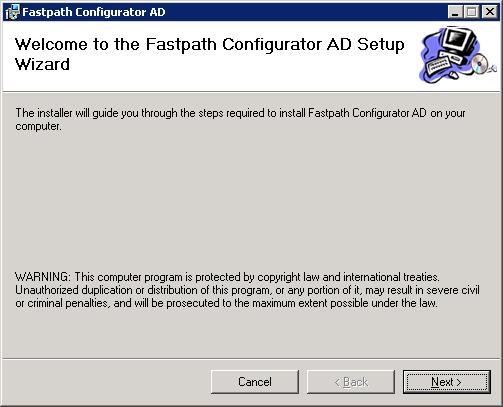 Fastpath Configurator AD -