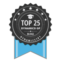 Top 25 Dynamics GP Blogs