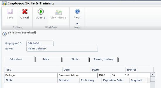 Employee Skills & Training