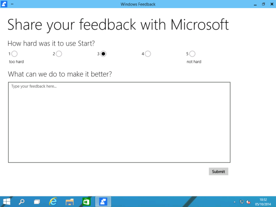 Windows Feedback - Share your feedback with Microsoft