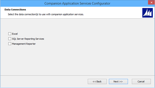 Companion Application Services Configurator