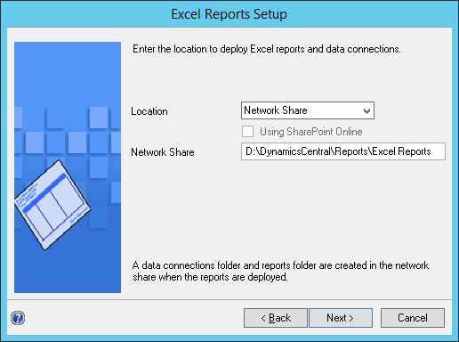 Excel Reports Setup