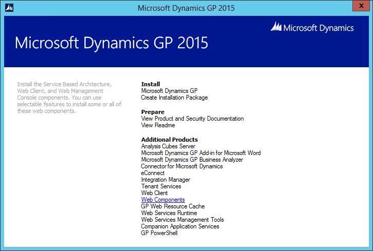 Welcome to Microsoft Dynamcis GP Utilities