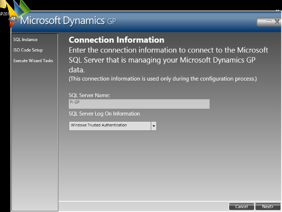 Web Services for Microsoft Dynamics GP Configuration Wizard - Welcome to the Web Services for Microsoft Dynamics GP Configuration Wizard