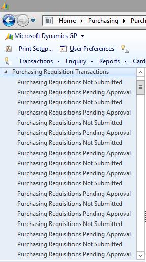 Duplicate navigation lists