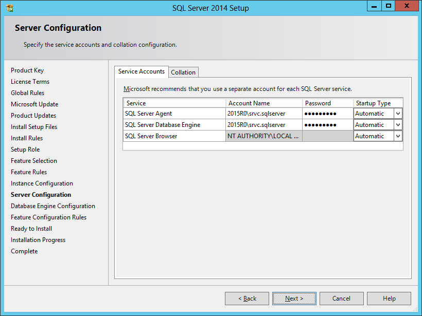 Install SQL Server 2014: SQL Server Installation – azurecurve