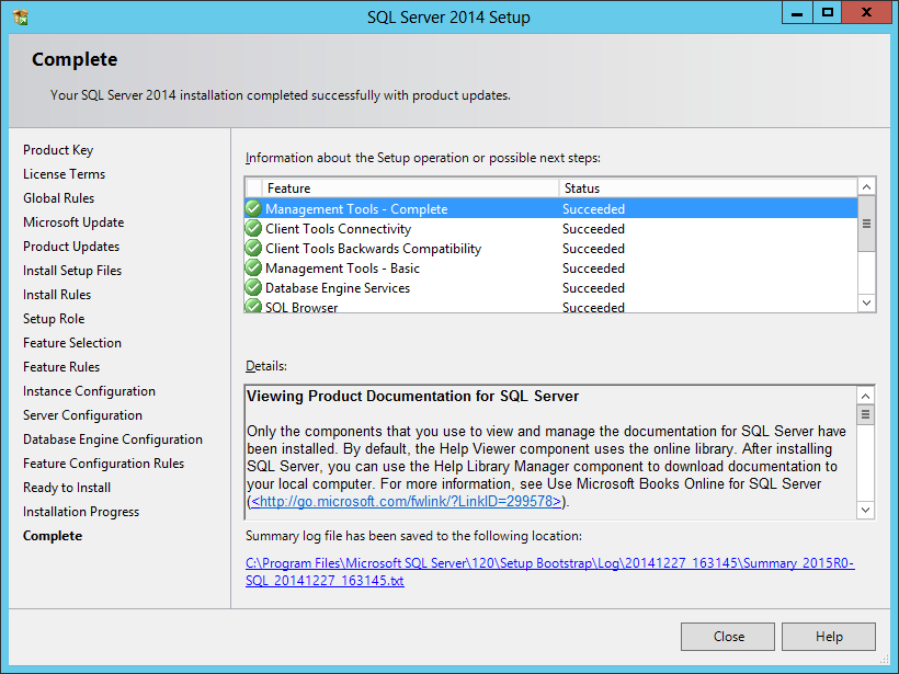 sql server installation process Screens shots are for sql server 2012 express and sql server management  studio 2012, however the process for installing different.