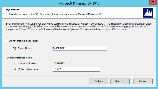 Microsoft Dynamics GP 2015: SQL Server
