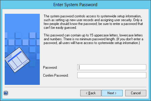 Enter System Password