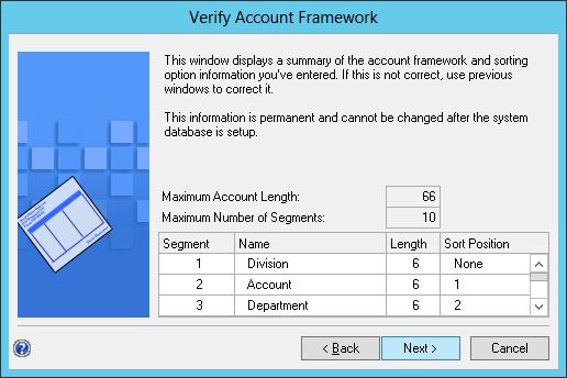Verify Account Framework
