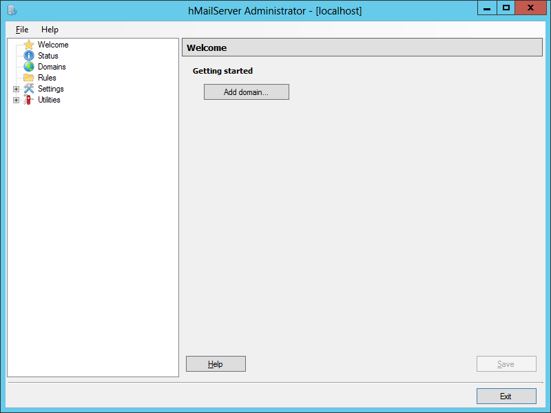 hMailServer: hMailServer Administrator Configuration – azurecurve