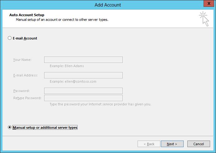 hMailServer: Connecting Outlook – azurecurve