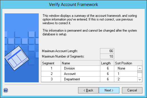 Verify Account Framework