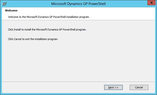 Microsoft Dynamics GP PowerShell: