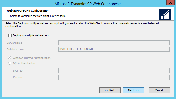 Microsoft Dynamics GP Web Components: Web Server Farm Configuration