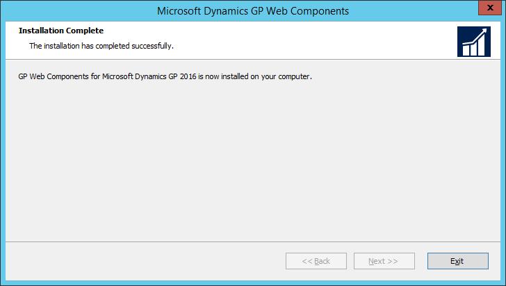 Microsoft Dynamics GP Web Components: