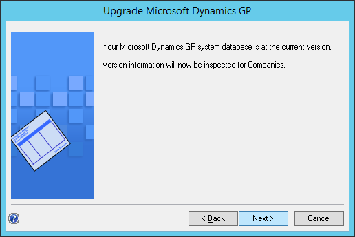 Upgrade Microsoft Dynamics GP