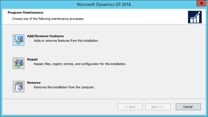 Microsoft Dynamics GP 2016: Program Maintenance