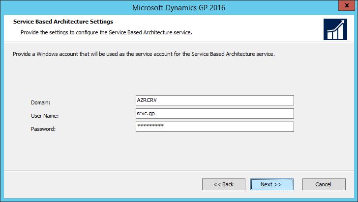Microsoft Dynamics GP Web Components: Service Based Architecture