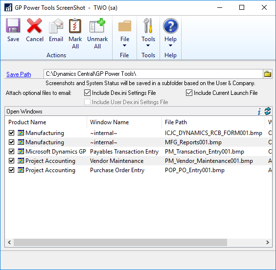 GP Power Tools ScreenShot